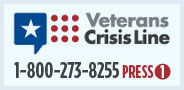 Veterans Crisis Line Badge
